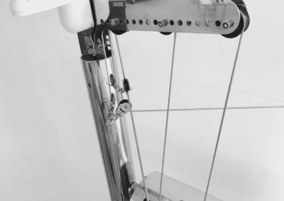Maestrale-Scirocco - particolare motore e anemometro