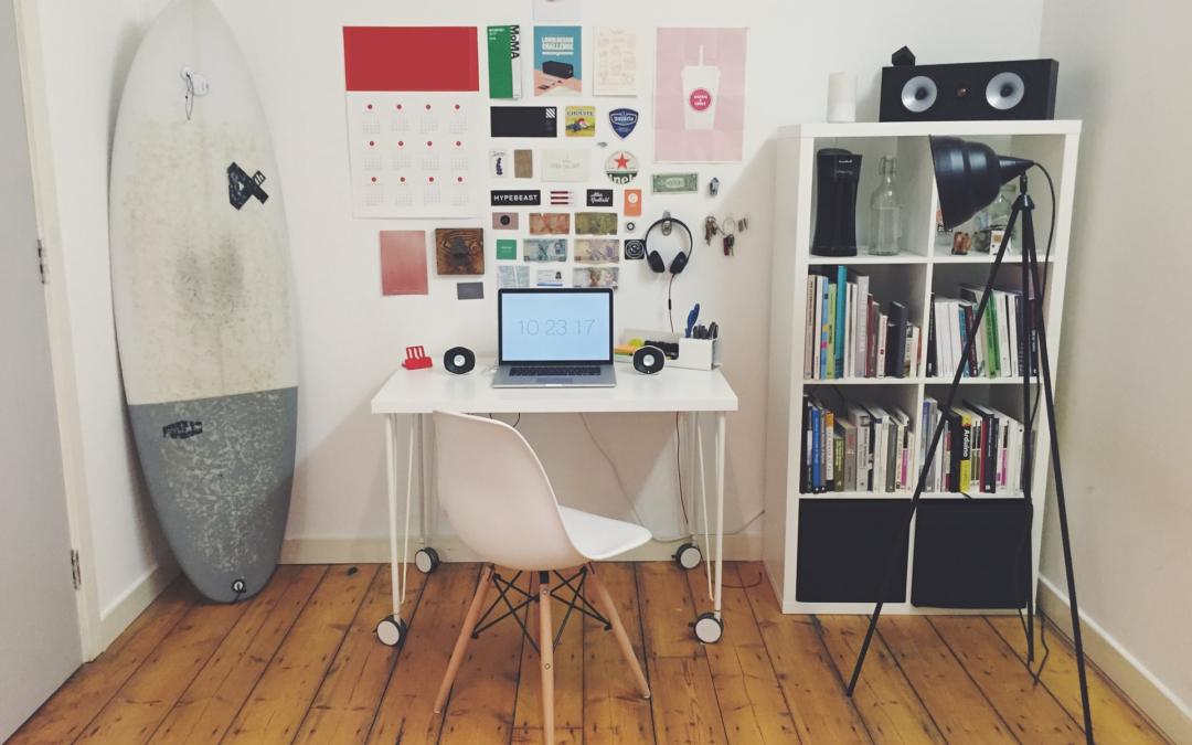 Моят учебен кабинет в моят дом